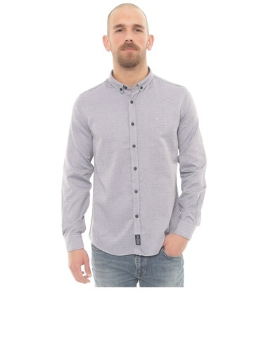Cazador 2060 Oxford Indigo Erkek Gömlek İndigo
